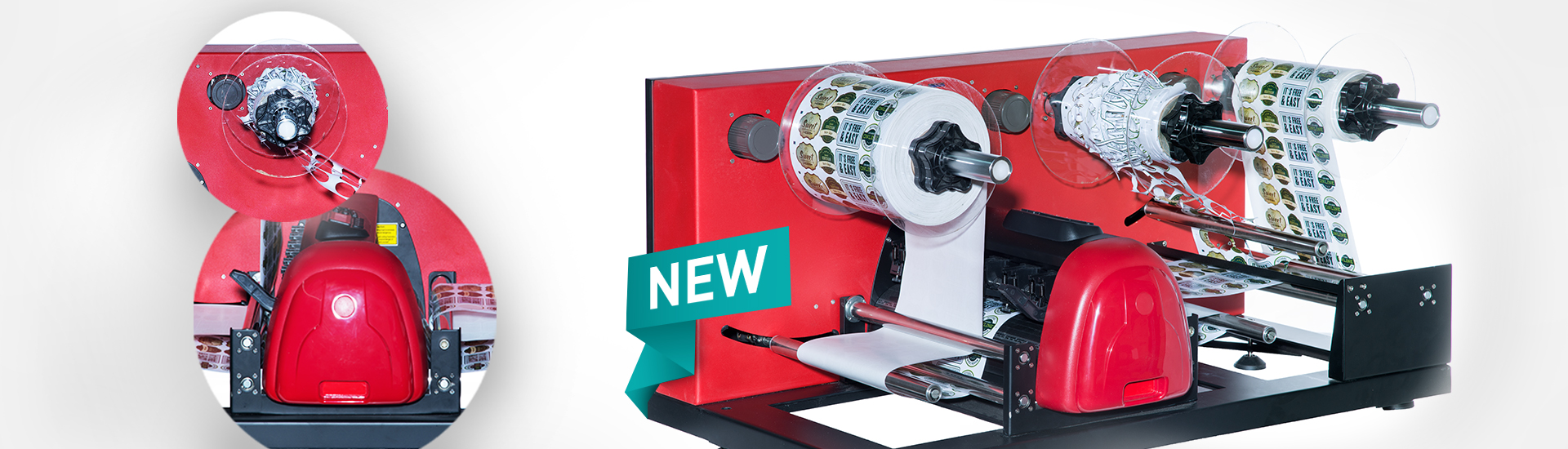 The new Secabo LC30 label cutter